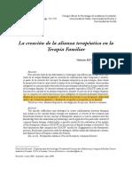 Valentín Escudero alianza terapéutica modelo SOATIF