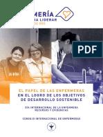 El papel de las Enfermeras en el logro de los Objetivos de Desarrollo Sostenible