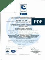 ISO 14001 - COSMETAL