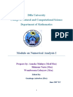 Numerical  I  Module-1
