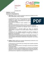 PROPUESTAS DE LOS CANDIDATOS A LA ALCALDIA DE CARTAGENA