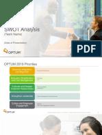CSNP SWOT Presentation April 2019 for 2019 YTD