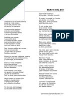 La Muerte Poema