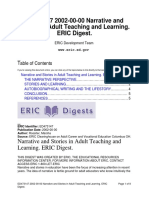 Narrative and Stories in Adult Teaching and Learning