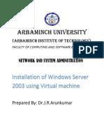 Installation of Windows Server using Virtual machine- Dr.J.R.Arunkumar AMU.pdf