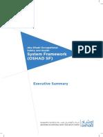 OSHAD SF System Framework