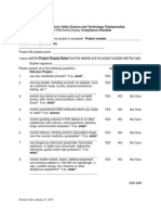 2010 Compliance Checklist