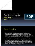 Planning for growth presentation
