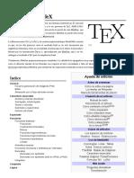Ayuda Uso de TeX