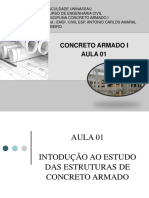 AULA 01 - INTRODUÇÃO AO ESTUDO DO CONCRETO ARMADO (2) (1)