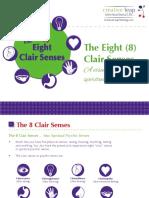The 8 Clair Senses a Visual Guide to the Spiritual Psychic Senses (1)