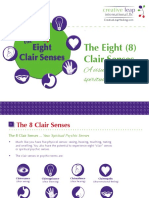 The 8 Clair Senses a Visual Guide to the Spiritual Psychic Senses (1)