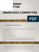 Santhanam Committee Ppt
