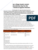 Hurfom-12 Karen women village heads remain detained