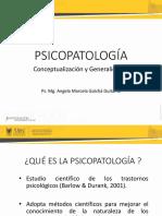 La psicopatología, generalidades