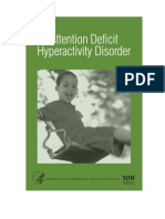 Psychology, Help) Nimh - Attention Deficit Hyperactivity Disorder (Adhd) (2006 Edition)