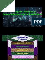 Conceptos Basicos y Generalidades de La Publicidad 1