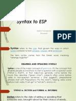 Syntax to ESP.pptx