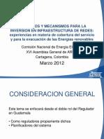 Cesar Fernandez- Presentacion ARIAE 2012