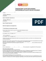 Huurovereenkomst Voor Een Woning Bestemd Tot Hoofdverblijfplaats Van de Huurder Attach s228721