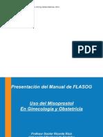 uso de misoprostol en obtetricia y ginecologia