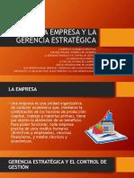 02 - LA EMPRESA Y LA GERENCIA ESTRATEGICA (1)