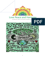 (153) 1st of June- 31st of July 2018 - Love Peace and Harmony Journal