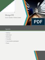 MongoDB e Sedna