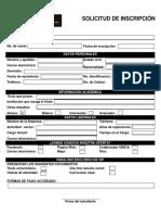 Formato de Inscripción - Versión Final