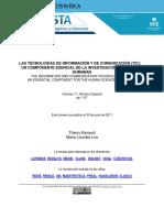 Las tecnologias de informacion y de comunicación TIC