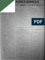 La Vanguardia  03 de julio de 1927