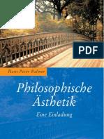 H.P. Balmer, Philosophische Ästhetik - Leseprobe -