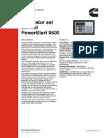 S-1593 Control Power Start