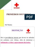11 AULA  PRIMEIROS SOCORROS