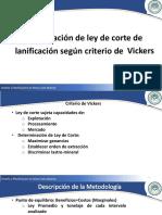 Unidad II Ley Corte-Vickers