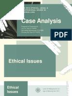 Ethics Case Analysis