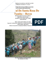 Monografia Del Car. de Santa Rosa de Tambo