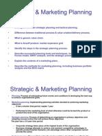 Strategic & Marketing Planning
