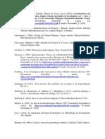 Bibliografia de Epistemologia de La Gerencia Avanzada