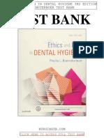 Ethics Law Dental Hygiene 3rd Beemsterboer Test Bank