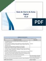 Guía Para El Cierre de Actas Virtuales (1)