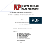 Ciminologia Moderna Cientifica y s.criminal