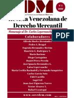 Revista Venezolana Derecho Mercantil Vol I.pdf