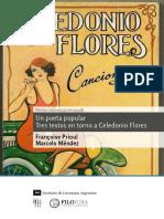 Un poeta popular. Tres textos en torno a Celedonio Flores