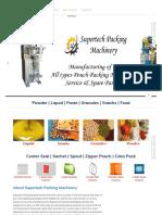 Supertech Packing Machine - Faridabad