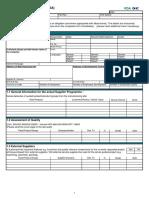 VDA Volume 6.3 Chapter 10.1 Supplier Self Assessment
