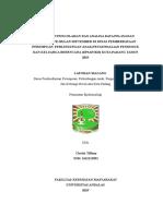 laporan magang di DP3AP2KB