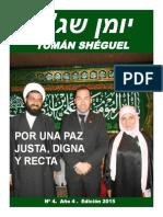 Revista Yoman Sheguel No4 Ed2015