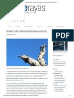Alejandro Colina emblema de la escultura monumental