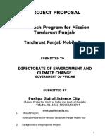 Tandrust Punjab Mission Mobile Bus